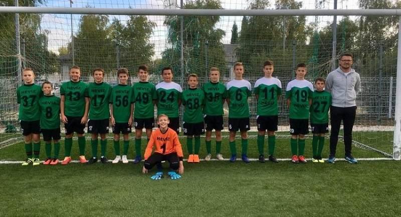 Csorna - Hévíz U12/U13-as bajnoki mérkőzések