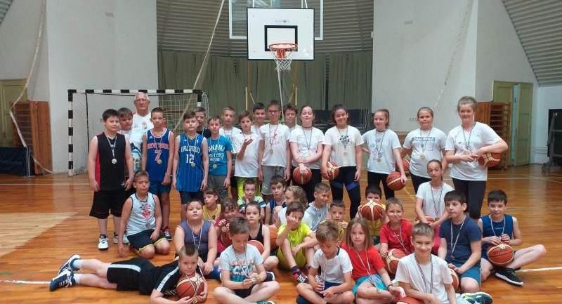 Nyári kosárlabda edzőtábort tartottak a Hévízi Sportkörben!