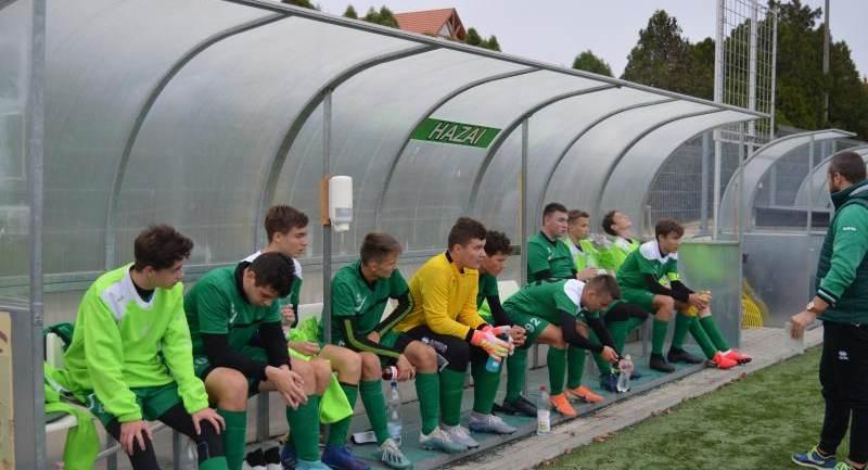 Hévíz SK – Andráshida SC ifjúsági mérkőzések