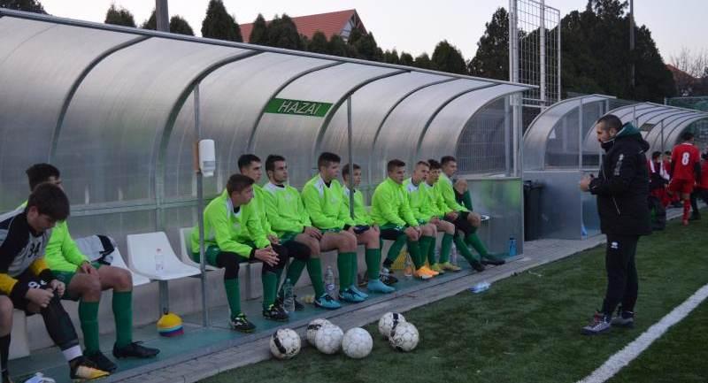 Hévíz SK – SFAC 1900 SE U17 bajnoki mérkőzés