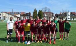 Hévíz SK – Csornai SE ifjúsági mérkőzések