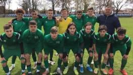 MITE - Hévíz SK ifjúsági mérkőzések